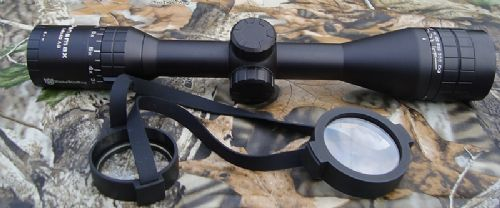 Nikko Stirling Panamax 3-9x40 parallax AO Extra-Wide Field Of View Half Mil Dot Rifle Scope - NPW3940AO